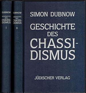 Geschichte des Chassidismus. In 2 Bänden (komplett).: Dubnow, Simon:
