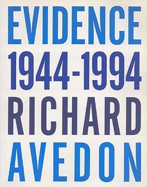 Evidence 1944 - 1994, Richard Avedon. [Signiertes: Avedon, Richard; Livingstone,