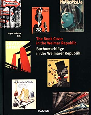 The book cover in the Weimar Republic. Buchumschläge in der Weimarer Republik.