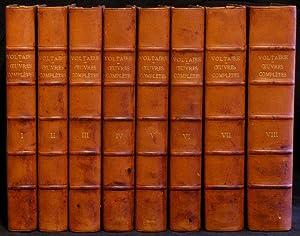 Oeuvres completes de Voltaire. [8 Bände (komplett).]: Voltaire: