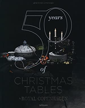 50 years of Christmas tables. Stories told through porcelain by Royal Copenhagen.