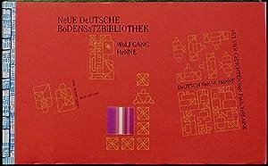 Neue Deutsche Bodensatzbibliothek. Band 107 (124). Mit: Henne, Wolfgang; Verlaine,