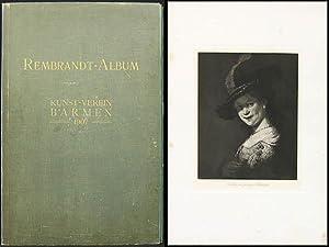 Rembrandt-Album. Sechs Heliogravuren nach Originalen von Harmensz: Harmensz Rembrandt van