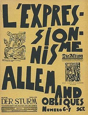 L'Expressionisme allemand.: Richard, Lionel: