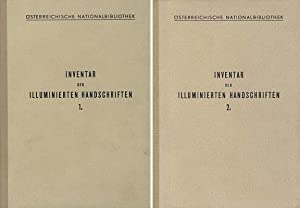 Inventar der Illuminierten Handschriften, Inkunabeln und Frühdrucke der österreichischen ...