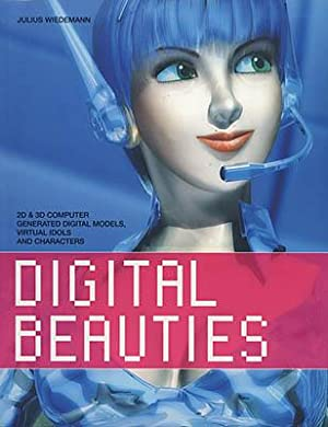 Digital Beauties. 2D & 3D Computer Generated Digital Models, Virtual Idols and Characters.
