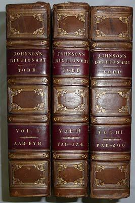 A Dictionary of the English Language; in Which The Words are Deducted from Their Originals; And i...