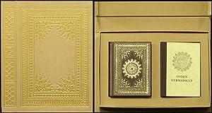 Der Codex Germanicus. 2 Bände (komplett). Text- und Faksimileband.: Knapp, Eva [Hrsg.]: