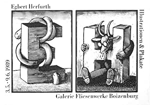 Plakat / poster: Egbert Herfurth. Illustrationen, Bücher & Plakate von Egbert Herfurth. Galerie F...