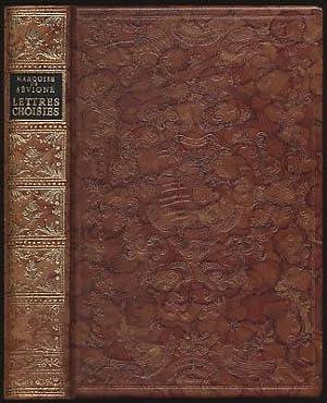 Lettres Choisies. Illustrations d'Auguste Sandoz et de: Marquise de Sevigne,