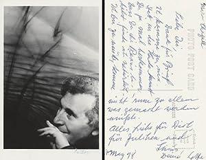 Marc Chagall. [Signierte Original-Fotografie / signed original: Jacobi, Lotte: