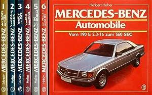 Mercedes-Benz Automobile. 6 Bände (komplett). Band 1: Schrader, Halwart: