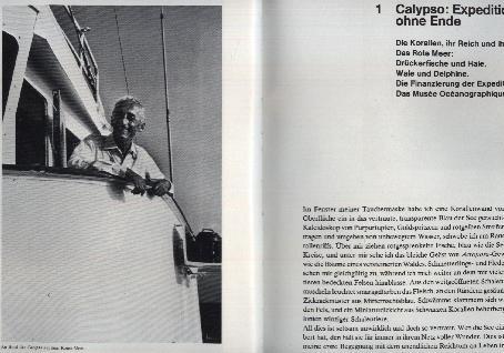 Korallen. Bedrohte Welt der Wunder.: Cousteau, Jacques-Yves und