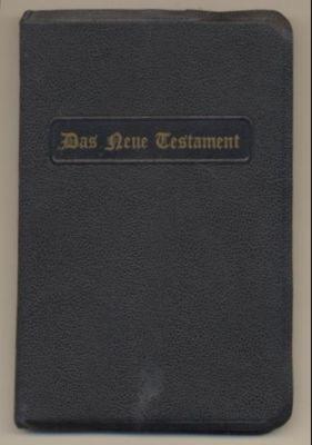 Das Neue Testament unsers Herrn und Heiland: Luther, Dr. Martin: