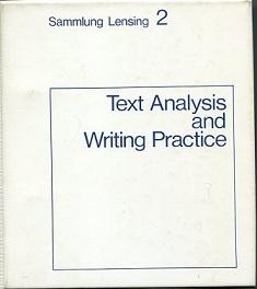 Text Analysis and Writing Practice./Textanalyse und Schreibübungen.: Hase, Hans-Dieter, Hildegard