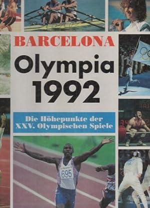Barcelona. Olympia 1992. Die Höhepunkte der XXV.: Bureau, Jérôme: