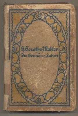 Die Sonne von Lahori. Roman.: Courths-Mahler, H.