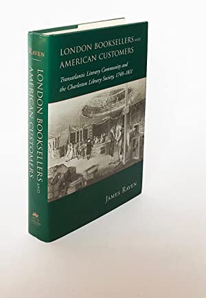 London Booksellers and American Customers: Transatlantic Literary Community and the Charleston Li...