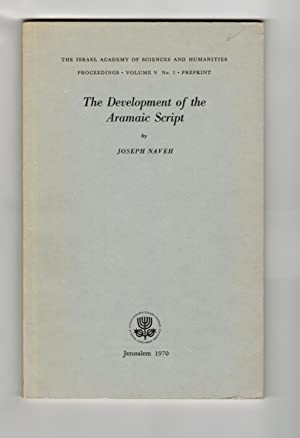 The Development of the Aramaic Script
