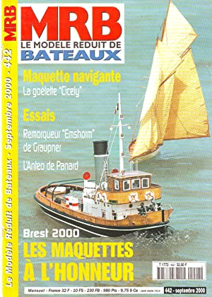 MRB le modèle réduit de bateaux N°442