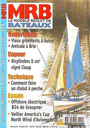 MRB le modèle réduit de bateaux N°444