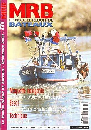 MRB le modèle réduit de bateaux N°445
