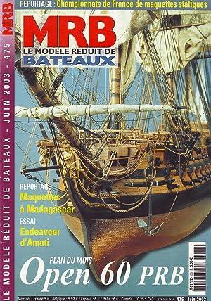 MRB le modèle réduit de bateaux N°475