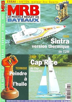 MRB le modèle réduit de bateaux N°483