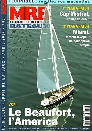 MRB le modèle réduit de bateaux N°485