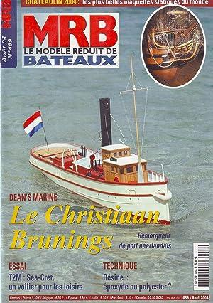 MRB le modèle réduit de bateaux N°489