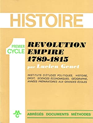 Révolution, Empire 1789-1815
