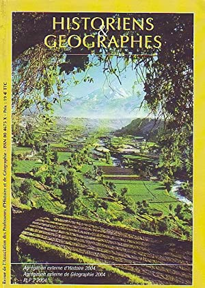 HISTORIENS & GEOGRAPHES N°389