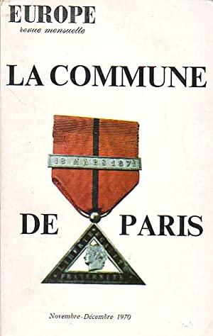 La Commune de Paris (Europe revue mensuelle) N°499-500