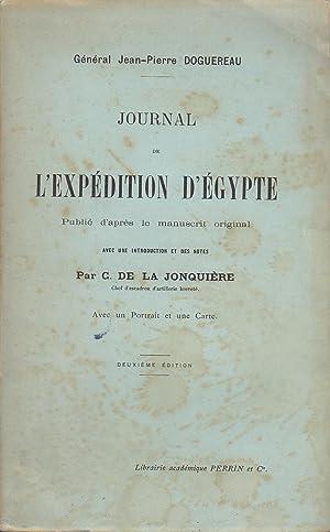 Journal de l'expédition d'Egypte: Général Jean-Pierre Doguereau