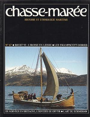 Revue Le Chasse-Marée numéro 67 Brest 92: Collectif