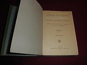 Linajes de Aragon. Revista quincenal ilustrada. Reseña historica, genealogica y heraldica de las ...
