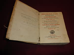Melchioris Cani Episcopi Canariensis, ex ordine praedicatorum.: Melchioris Cani