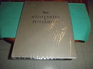 Bores. Aguafuertes y puntasecas. Colección de diez grabados originales directamente ...