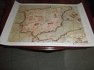 Fragmento de un mapa de la Europa: Abraham Cresques