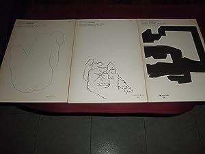 Eduardo Chillida. Dibujos. Desnudos 1948 51. Manos 1949 74. Formas 1957 1968. 3 Volúmenes: ...
