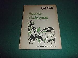 Abierto a todas horas ( 1960 1963: Rafael Alberti