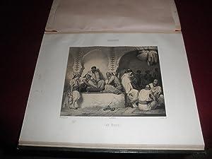 Album romantico con 35 grabados ingleses del siglo XIX. Diversos autores y titulos. ( Coqueteria ...
