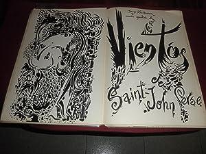 Vientos. Version española de Jorge Zalamea: Saint John Perse