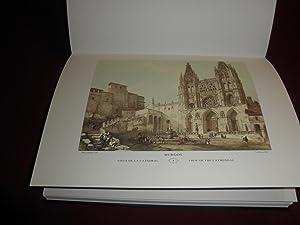 Viajeros por la España Romantica. Colección de 50 litografias de los pintores David ...