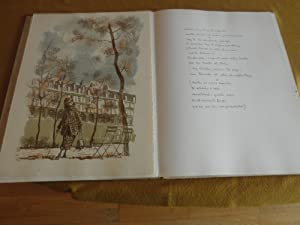 Variaciones sobre Paris. Colección de 17 litografias originales, estampadas a mano, ...