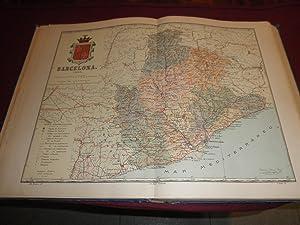 Atlas geografico iberoamericano. España. Descripcion geografica y estadistica de las ...