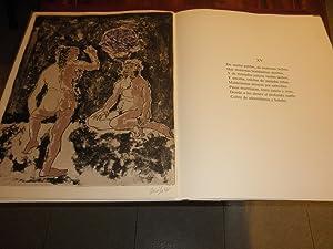 La fabula del Genil. Con una colección de once litografias en colores directamente ...