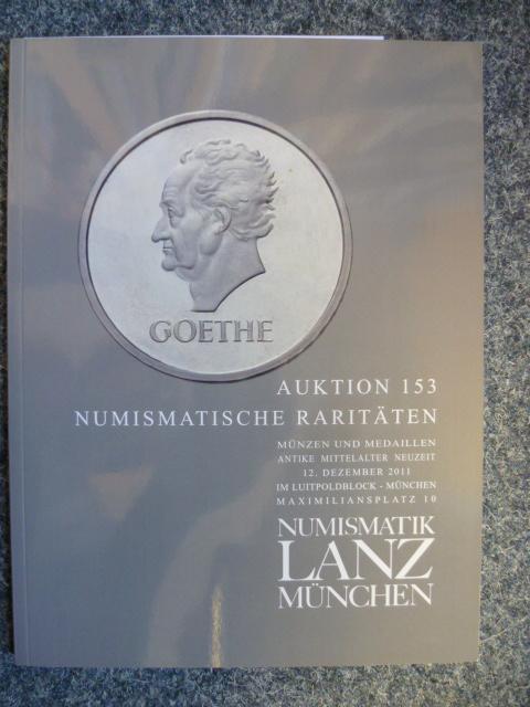 Auktion 153 Numismatische Raritäten Münzen Und Medaillen Antike