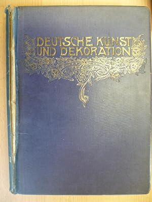Deutsche kunst und dekoration erstausgabe abebooks for Innendekoration 1921