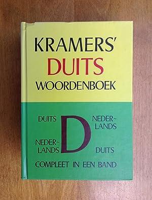 Kramers duits woordenboek. Duis-Nederlands, Nederlands-Duits compleet in: Van Dam,J.